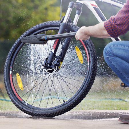 شستن دوچرخه با دستگاه کارواش خانگی