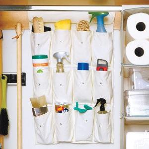 مرتب کردن ابزار نظافت