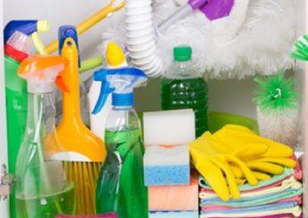 ساماندهی تجهیزات نظافت