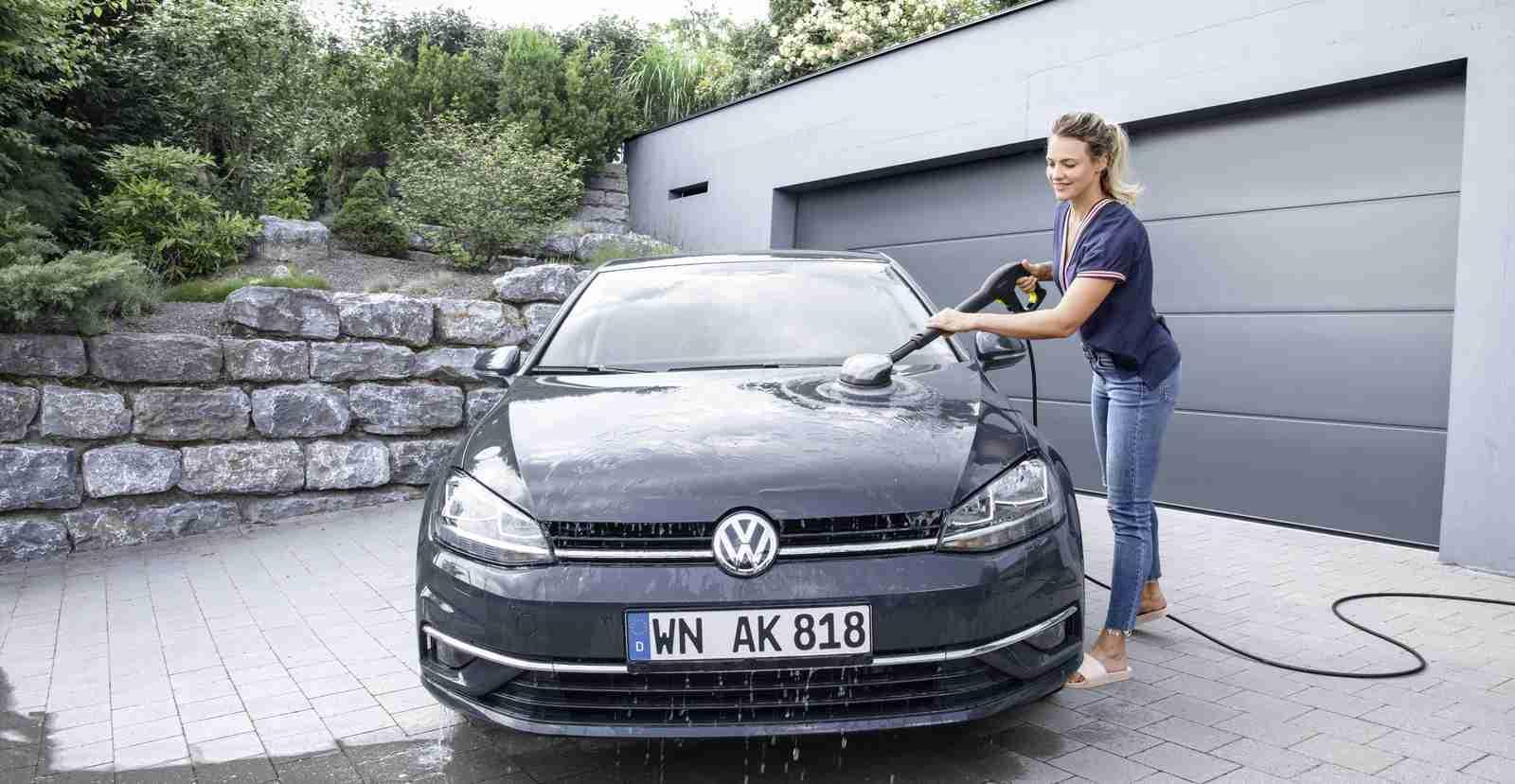 استفاده از کارواش خانگی در شستشوی خودرو